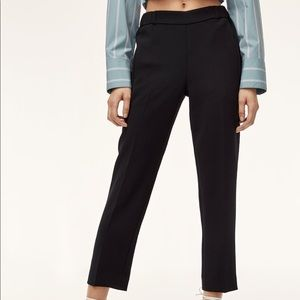 Aritzia Wilfred Slim Fit Dress Pants